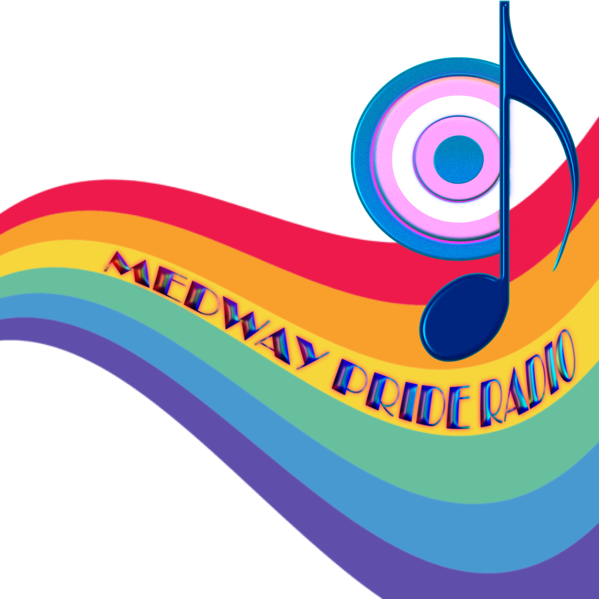 Medway Pride Radio Logo