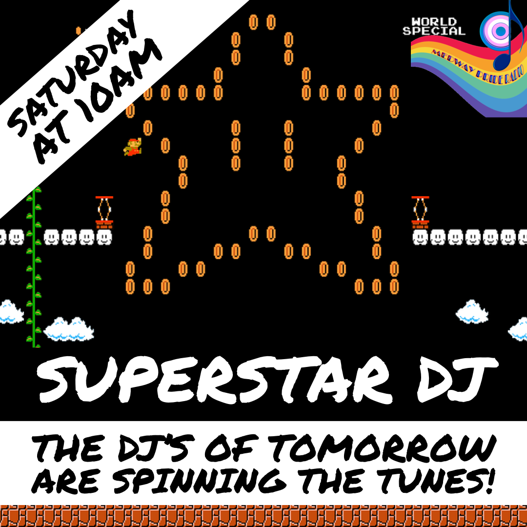 Superstar DJs Poster