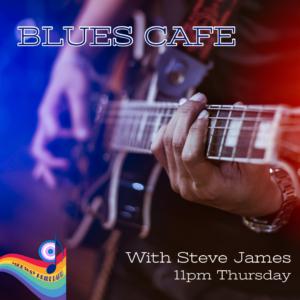 Blues Cafe with Steve James