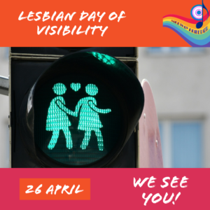 Lesbian Day Of Visability with H