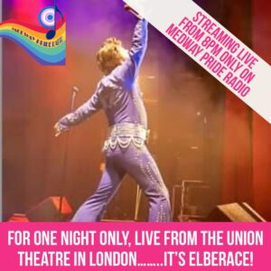 For One Night Only, Live From The Union Theatre In London …. It's Elberace