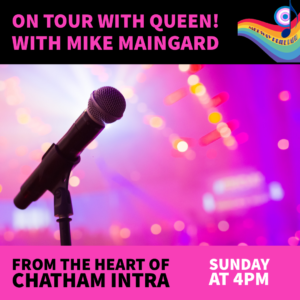 On Tour With Queen With Mike Maingard